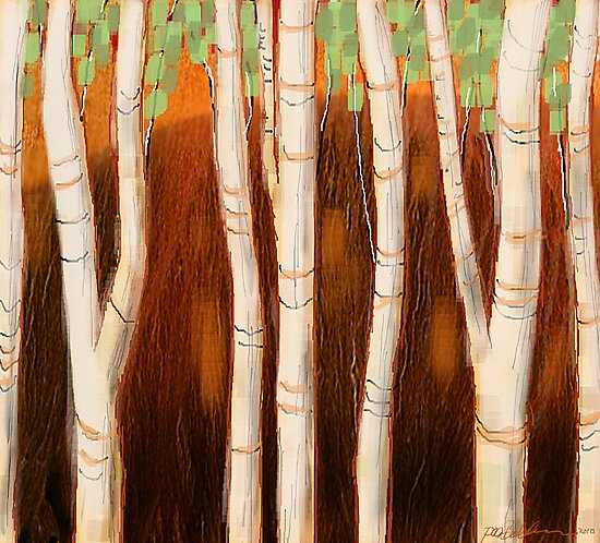 """""""White Forest"""" by Patrice Baldwin"""