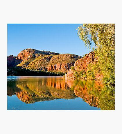 Cliffs, Argyle River, Kununurra. Kimberley. WA. Photographic Print