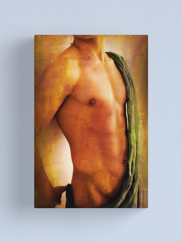 Alternate view of modelo  Canvas Print