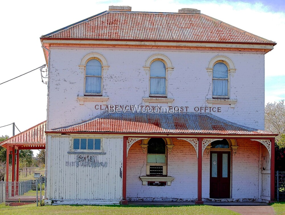 Clarence Town Post Office - Circa 1860 by Bev Woodman