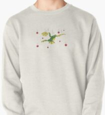 Falling Frog and Cranberries Pullover Sweatshirt