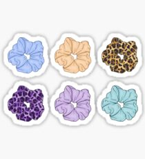 Scrunchies - Assorted Colors Sticker