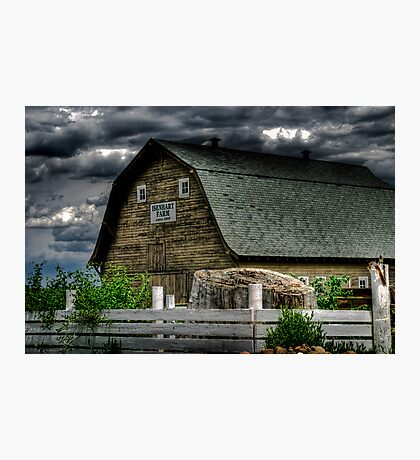 Isenhart Farm Photographic Print