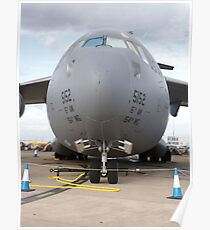 Up close and personal with a C-17 Poster