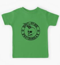 Pure Psychobilly - Black Stamp Kids Tee