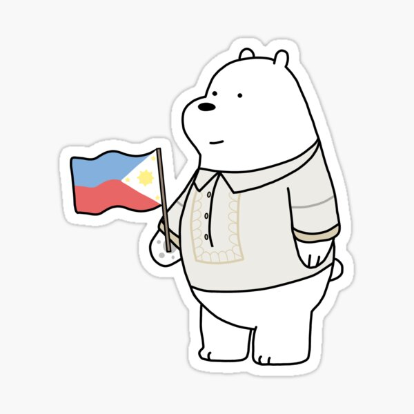 We Bare Bearongs - Ice Bear Pegatina