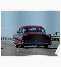 cruising on the Monash Poster