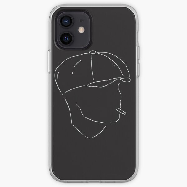 T Shirt Tommy Shelby / Peaky Blinders Coque souple iPhone