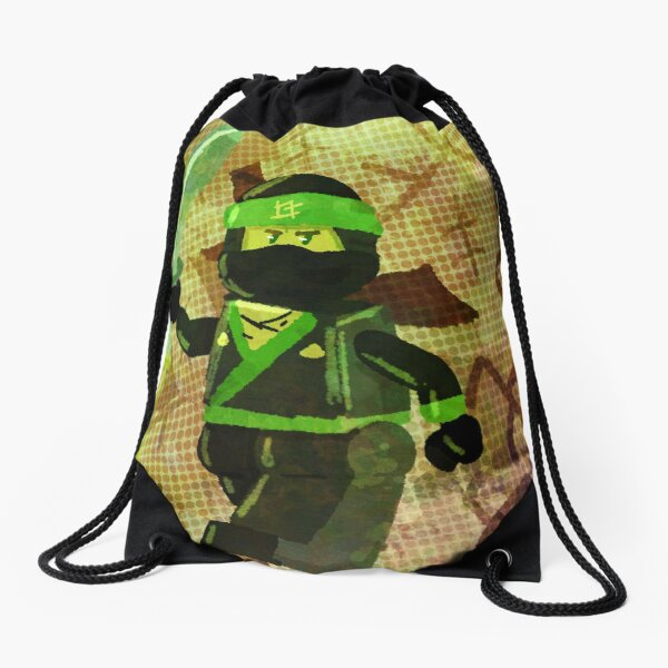 Ninjago: The Green Ninja Drawstring Bag