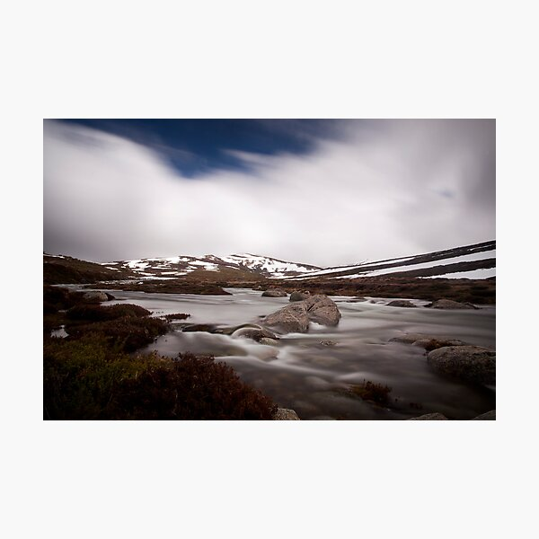 The Snowy Photographic Print