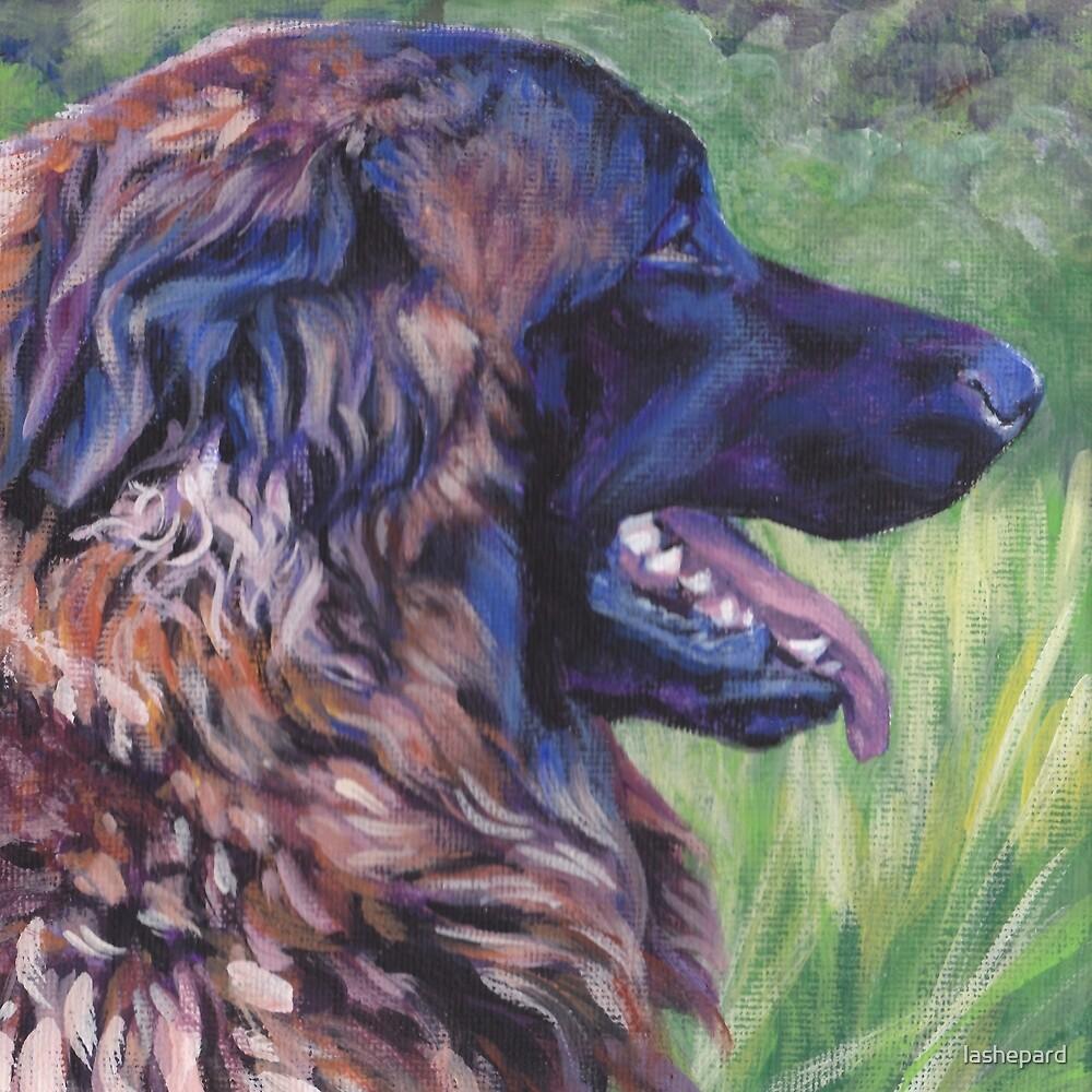 Estrela Mountain Dog Fine Art Painting by lashepard