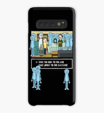 Rick and Morty: Mr Meeseeks Pixel art Case/Skin for Samsung Galaxy