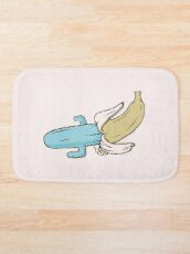 banana cactus Bath Mat