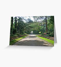 Fitzroy Gardens Greeting Card
