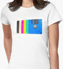 Colorful floppy discs T-Shirt