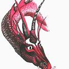 Dragon eating Tory by mindgoop