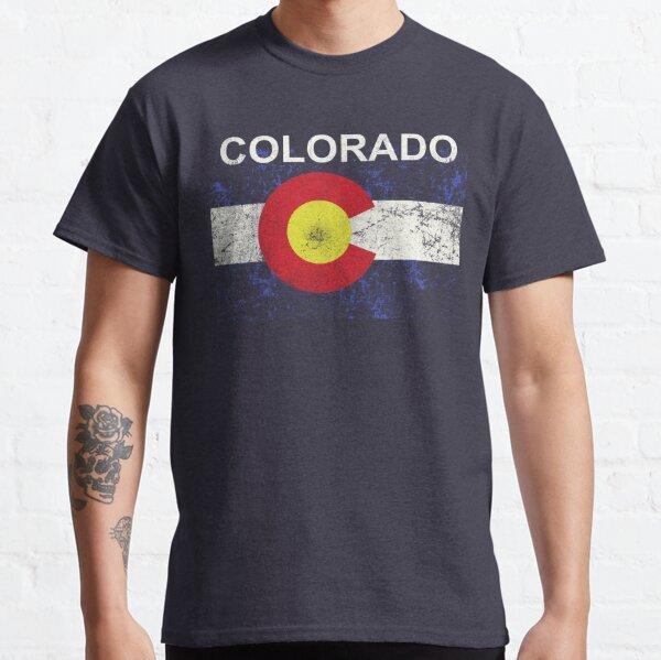 colorado flag vintage Classic T-Shirt