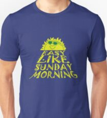 Easy like sunday morning geek funny nerd Unisex T-Shirt
