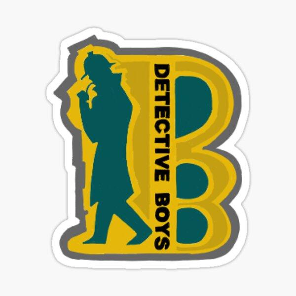 Insigne Detective Boys Sticker