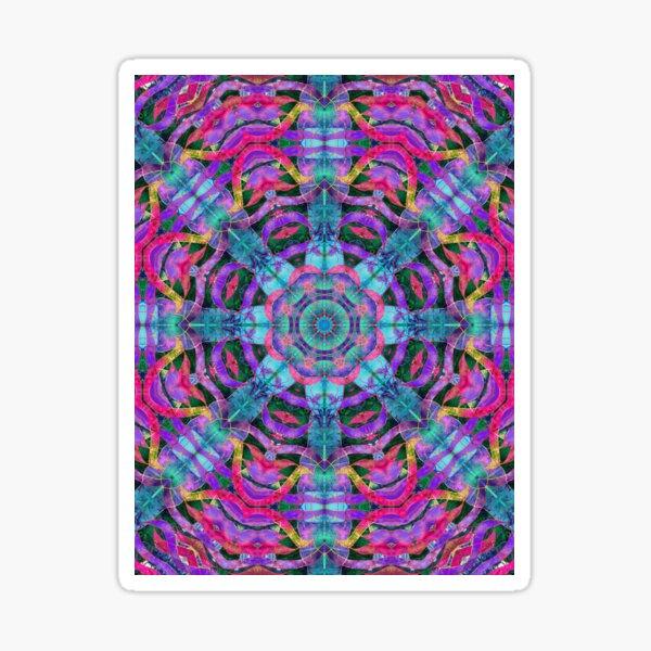 Pretty and Purple Sticker