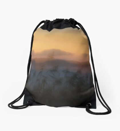 Misty Dusk Drawstring Bag