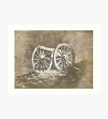An Old Cannon Art Print