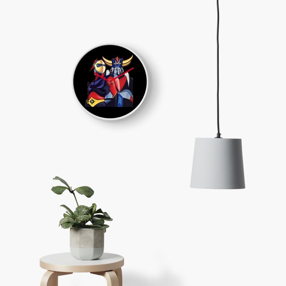 GOLDRAKE  Clock