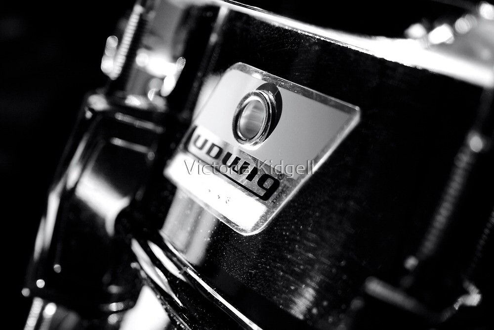 Ludwig Snare Drum by Victoria Kidgell
