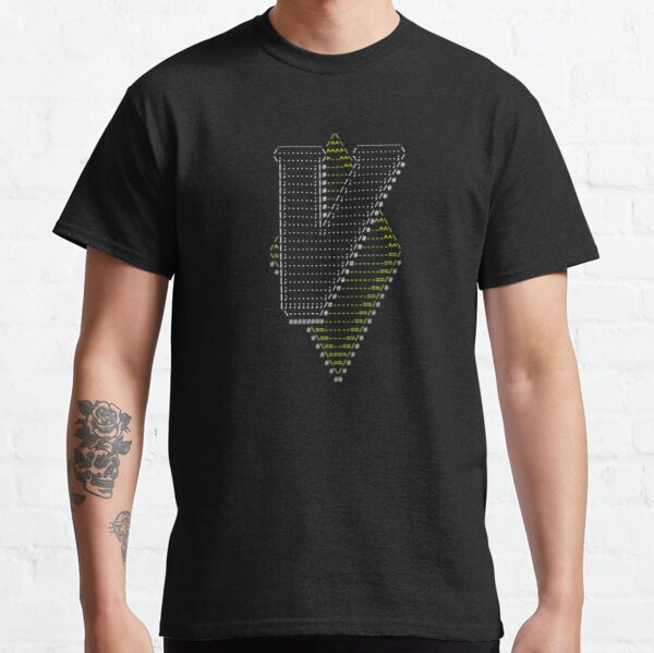 Vim Ascii Art Classic T-Shirt