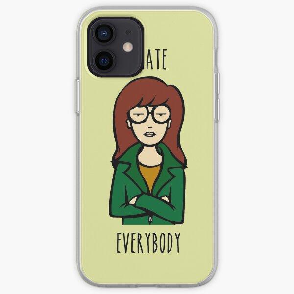 Daria V2 | I HATE EVERYBODY iPhone Soft Case