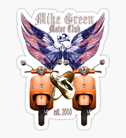 Mike Green Motor Club Sticker