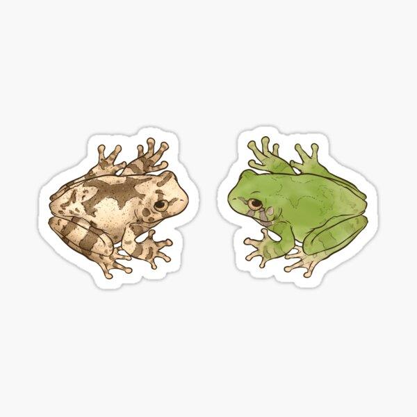 Gray Tree Frogs Sticker
