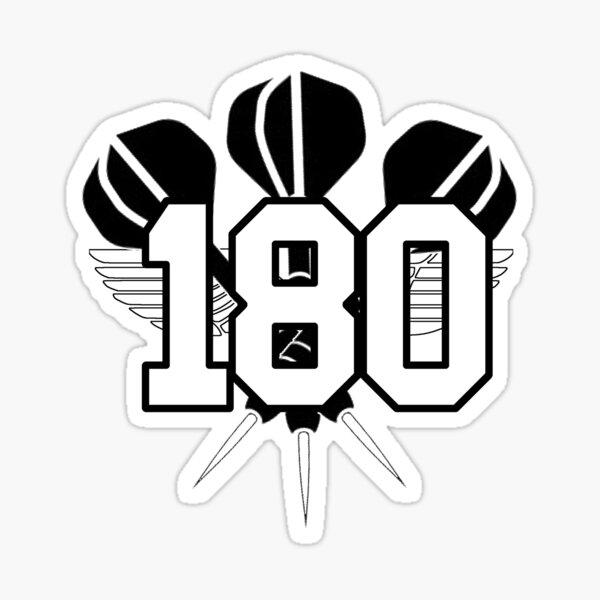 Fléchettes 180 centaine de géant de Dartshero24 Sticker