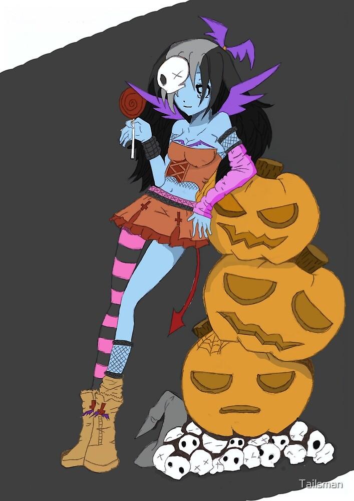 Halloween Girl by Tailsman