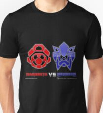 Console Wars: Mariobots vs Sonicons! Unisex T-Shirt