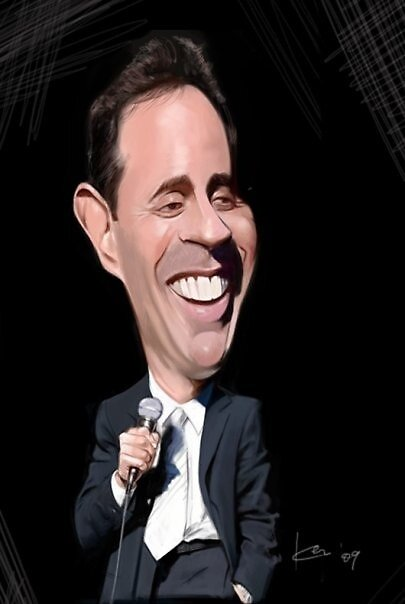 JERRY SEINFELD by coogy