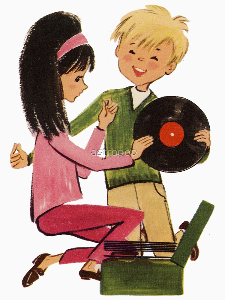 Kids Vinyl Record Love by astropop