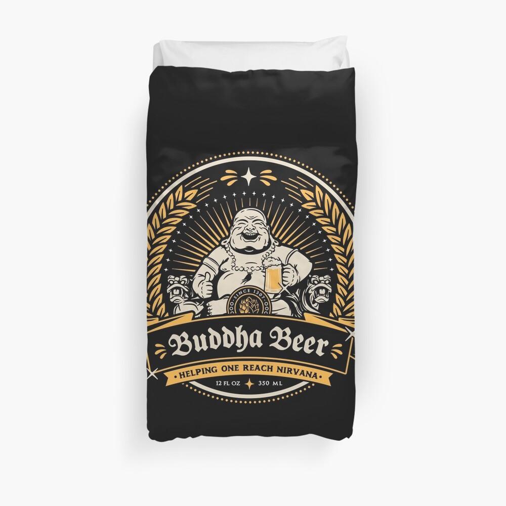 Buddha Beer Duvet Cover