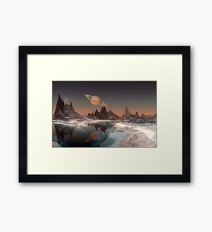 Saturn from Janus Framed Print