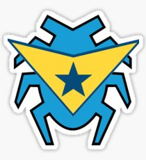Blue Beetle and Booster Gold Sticker