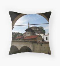 A Mosque in Safranbolu. Throw Pillow