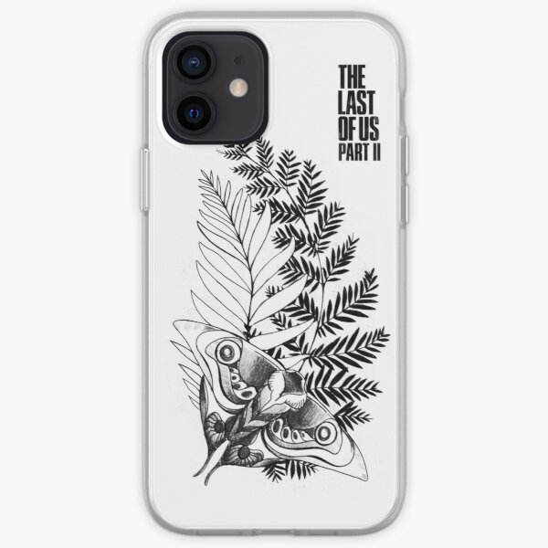 Ellie's Tattoo V2 | The Last of Us Part 2 (White) iPhone Soft Case