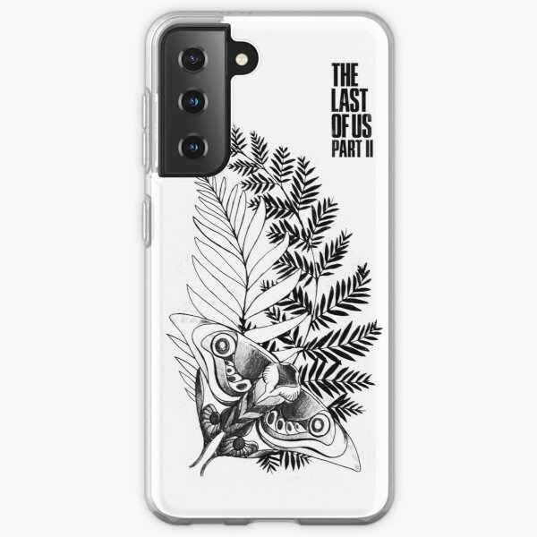 Ellie's Tattoo V2 | Le dernier de nous, partie 2 (blanc) Coque souple Samsung Galaxy