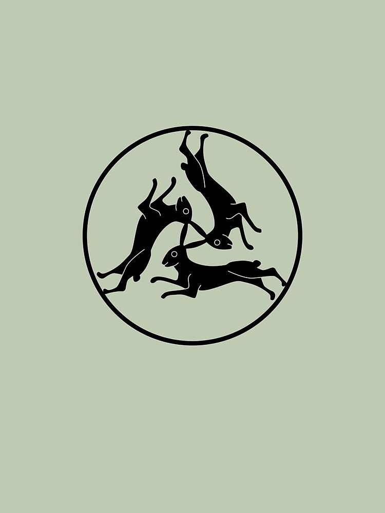 Three Hares by Thoth-Adan