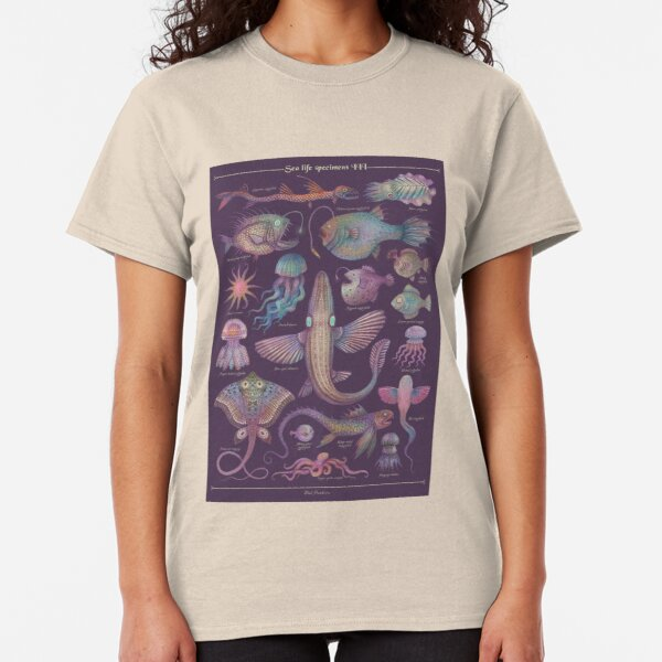 Sea life specimens III Classic T-Shirt