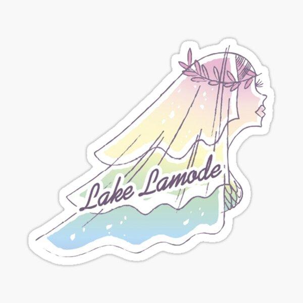 Lake Lamode Sticker