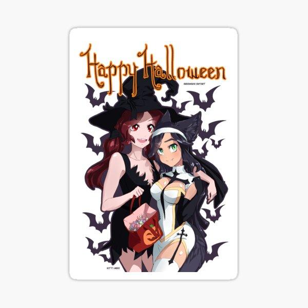 Happy Halloween from Kitti Minx ASMR! Sticker