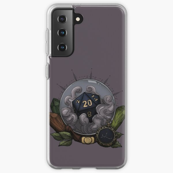 Virgo D20 - Tabletop Gaming Dice - The Astrology Collection Samsung Galaxy Soft Case