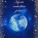 Sininen Joulutervehdys by hurmerinta