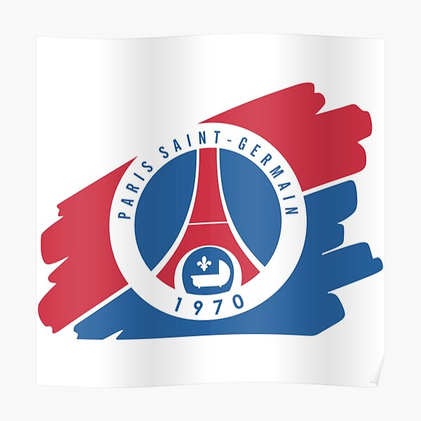 Posters Sur Le Theme Psg Logo Redbubble